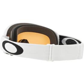 Oakley O Frame 2.0 Pro XS Lunettes de ski Adolescents, matte white/persimmon & dark grey